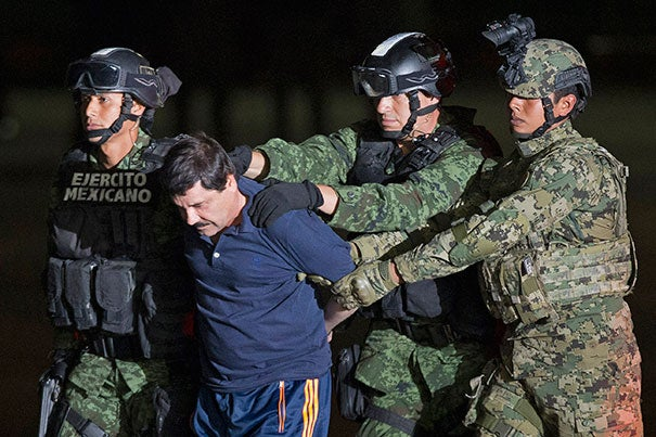 """As long as there is money to be made, and with such a profitable market next door, this business is not going to go away, because if it's not El Chapo, it's going to be someone else,"" said Harvard's Evelyn Krache Morris about the arrest of Joaquín ""El Chapo"" Guzmán."