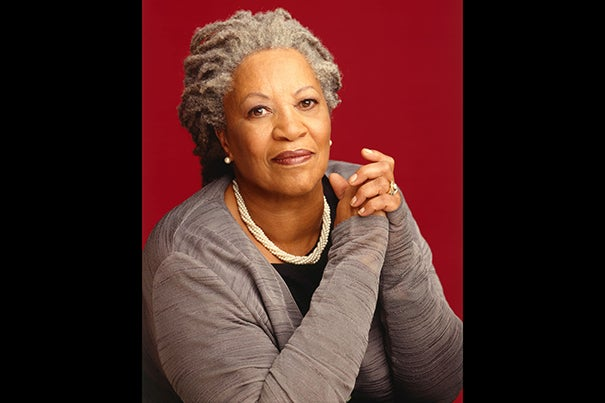 """Toni Morrison will deliver the Charles Eliot Norton Lectures, which will be held throughout March and April at Sanders Theatre. """"There is no more compelling writer for our campus and our global times,"""" said Homi K. Bhabha, Anne F. Rothenberg Professor of the Humanities and director of the Mahindra Humanities Center."""