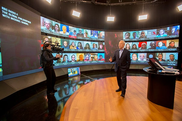 """This is an exciting opportunity to create a truly global public square,"" said Harvard Professor Michael Sandel. ""The HBX Live platform enables us to conduct video-linked discussions across national and cultural boundaries."""