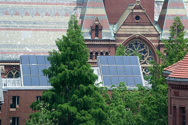 """Global climate change is one of the most pressing challenges we face as a society,"" said Harvard President Drew Faust, who launched the Climate Change Solutions Fund initiative last year. ""Harvard must be at the forefront of deepening understanding of the problem, of bringing experts together across fields and disciplines, and of driving meaningful progress that touches every dimension of this critical issue.""  Ten winners were announced for 2016."