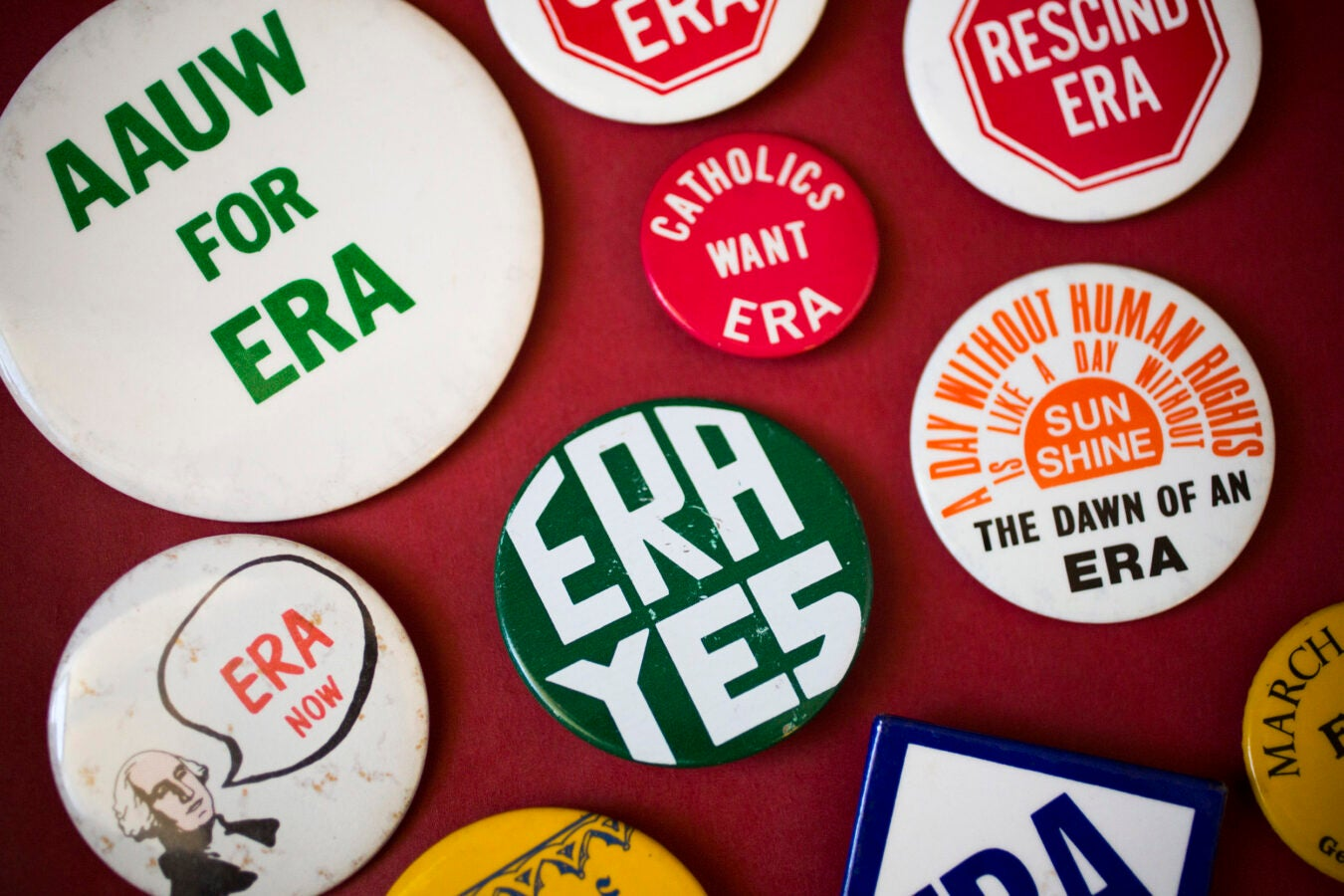 Buttons supporting the ERA.