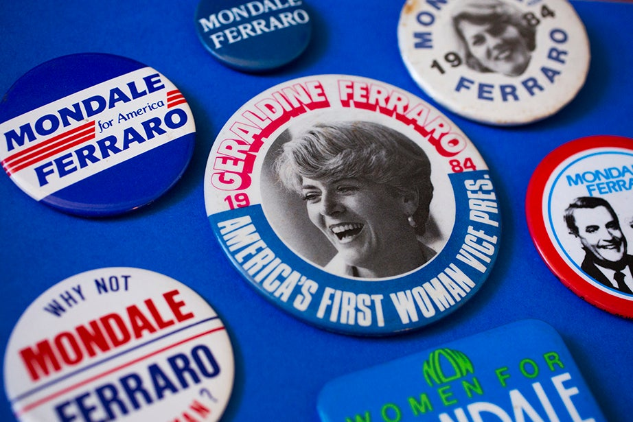 In 1984, Geraldine Ferraro was the first female vice presidential candidate from a major political party in the United States.