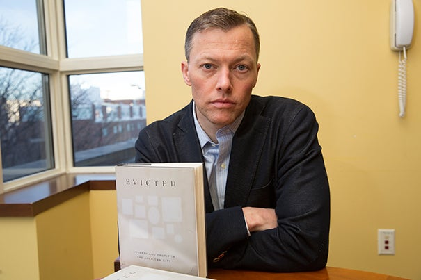 "Matthew Desmond: ""I didn't know that 2.8 million renting families around the country report that they think they're going to be evicted soon."""