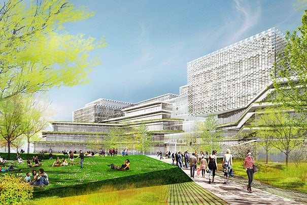 The Science and Engineering Complex at Harvard University will house students and faculty from the John A. Paulson School of Engineering and Applied Sciences when it opens in 2020.