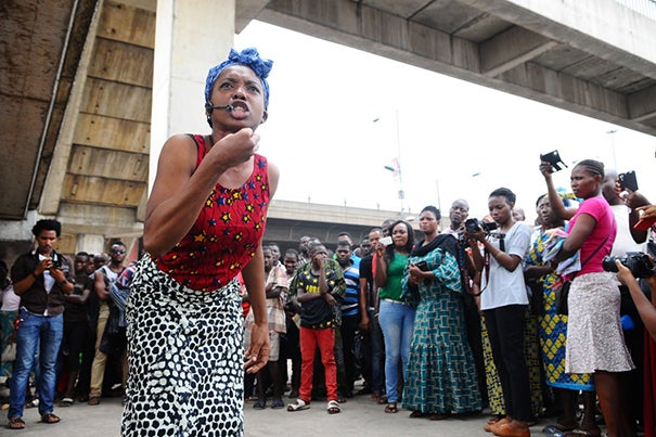 """""""Hear Word!"""" debuts this weekend at the American Repertory Theater. The show features 10 of Nigeria's top actresses performing monologues and songs that address the trials the country's women endure."""