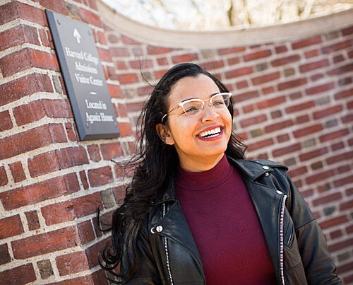 "Dominique Donette, who is graduating with a master's degree in education policy and management, plans to advocate for educational equity. ""It's been a transformative experience, but not in the way I thought it'd be, and that's OK,"" she said of her time at Harvard."