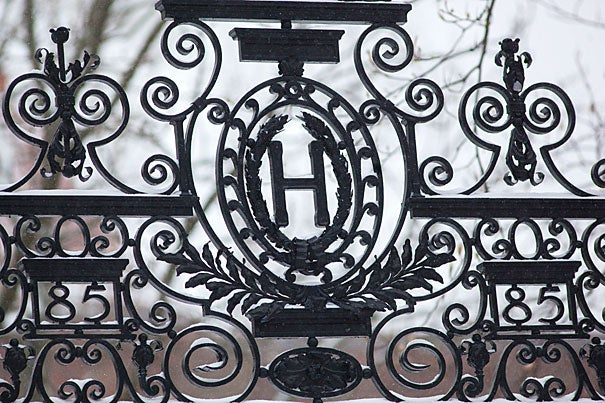 The 25 gates that rim Harvard Yard inspired former Nieman Fellow Blair Kamin to edit a book celebrating these works of architectural art.