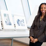 """Sarah Elizabeth Lewis, assistant professor of the history of art and architecture and African and African-American studies, guest edited the magazine Aperture, producing an issue called """"Vision & Justice,"""" the first on African-Americans, race, and photography for the magazine."""