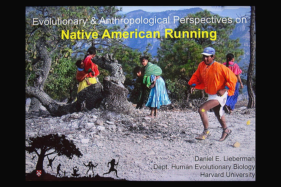 "A conference on Native American running at Harvard explored the history and importance of Native American running traditions. The Tarahumara tribe in Mexico, known for their ability to run long distances between widely separated settlements, could cover up to 200 miles over a period of two days. ""Like other Native American communities,"" explains Professor Daniel E. Lieberman, an evolutionary biologist, ""the Tarahumara have been gathering together to race for thousands of years. These races brought people together, helped to redistribute food and goods, trained hunters, and promoted health and fitness."""