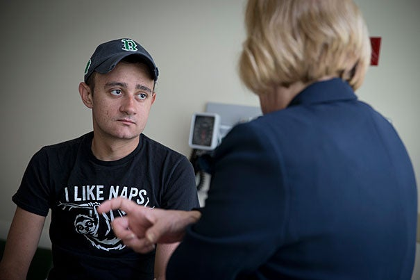 Brenden Whittaker, 22, of Ohio, is a patient with a rare genetic immune disease in a Children's Hospital gene therapy trial. Pediatric Oncology RN, Brenda MacKinnon and Whittaker discuss his progress.
