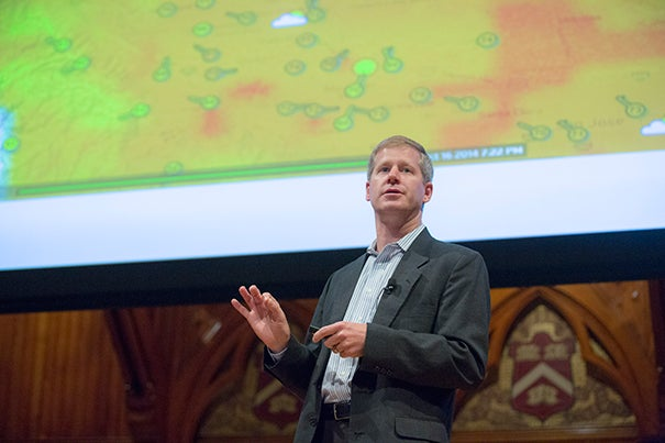Weather Company's CTO Bryson Koehler tells those at the sixth annual Harvard IT Summit that technology is not the only thing that needs to change, so does corporate culture.
