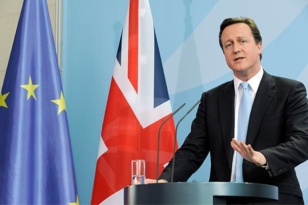 British Prime Minister David Cameron is at the forefront of a debate that has led to this month's referendum on whether the United Kingdom should retain its membership in the European Union.