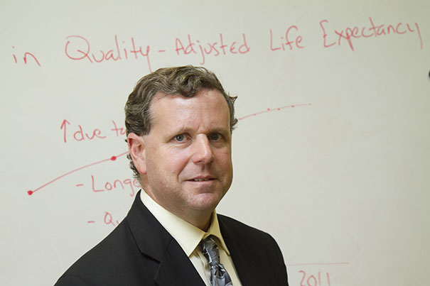David Cutler, the Otto Eckstein Professor of Applied Economics, is among the co-authors of a new study on increased length of disability-free life for Americans.