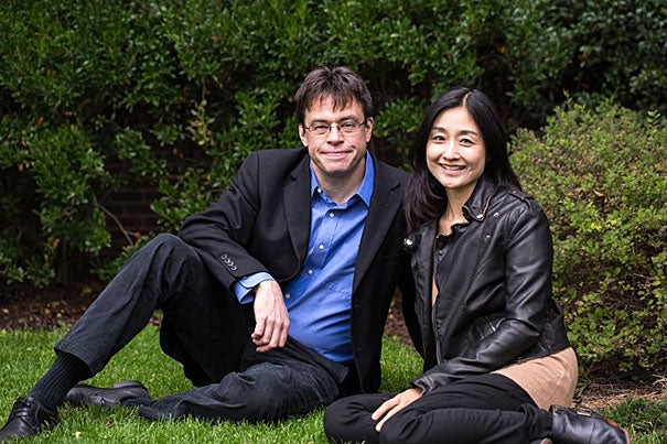 """Michael Puett, the Walter C. Klein Professor of Chinese History, and local author Christine Gross-Loh have co-authored """"The Path,"""" a book that brings the ideas of ancient Chinese philosophy to a modern-day audience."""