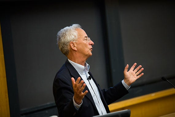 Andrew Zimbalist discusses the myriad difficulties facing host governments, and the merits of designating a static, reusable Olympic venue. Stephanie Mitchell/Harvard Staff Photographer