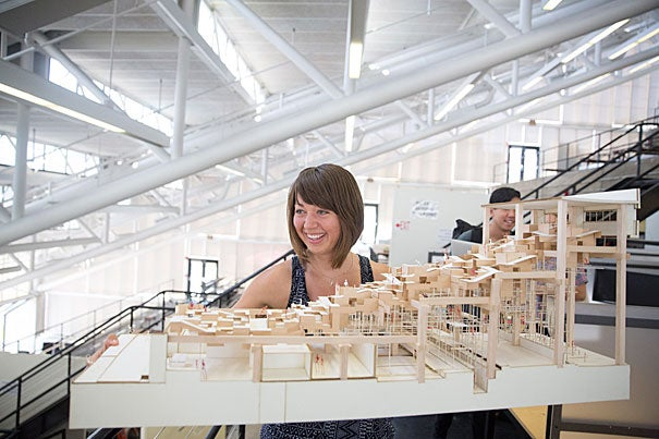 Graduate School of Design student Lauren Friedrich's master's thesis explores the changing relationship between architecture and healthy living.
