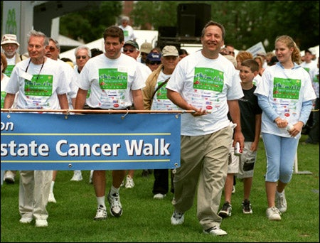 Walk for prostate cancer prevention