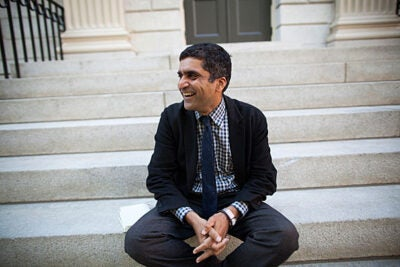 """My goals are informed by the College's mission of educating citizens and citizen-leaders for our society,"" said Danoff Dean of Harvard College Rakesh Khurana."