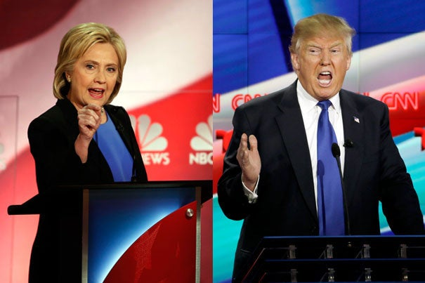 """Democratic presidential candidate Hillary Clinton and Republican presidential candidate Donald Trump will seek to """"not lose"""" in front of a television audience that is expected to rival the Super Bowl's."""