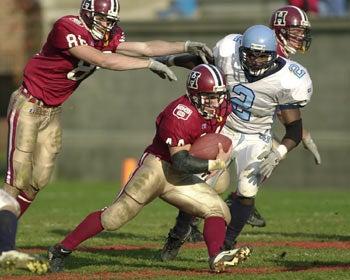 Photo of Nick Palazzo, Sam Taylor- Harvard Crimson football