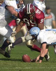 Michael Armstrong, Ryan Fitzgerald of Harvard Crimson football