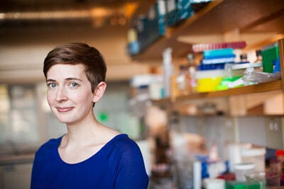 """Molly Edwards is the creator and host of """"Science IRL,"""" a new YouTube channel that highlights the work of scientists in their labs. """"It's really easy to imagine what a doctor or a lawyer or a teacher does at work,"""" she says, """"but people don't get to see what a scientist does every day."""""""