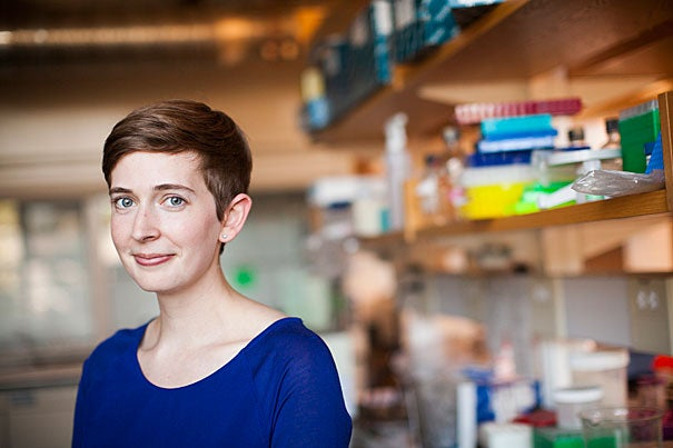 "Molly Edwards is the creator and host of ""Science IRL,"" a new YouTube channel that highlights the work of scientists in their labs. ""It's really easy to imagine what a doctor or a lawyer or a teacher does at work,"" she says, ""but people don't get to see what a scientist does every day."""