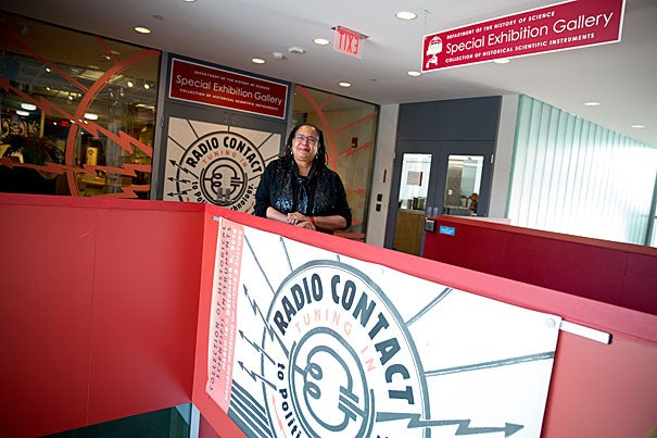 "Professor Evelynn Hammonds noticed IWD Radio Project media memorabilia in the ""Radio Contact"" exhibit at the Science Center. What she saw inspired her to organize a panel that brought together women who shared their personal experiences, including how the all-volunteer IWD project shaped their lives."