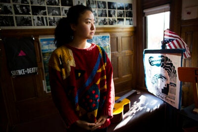 """This is a paean to an old house in which young people have left their memories,"" writes Faye Zhang '17 of the Dudley Co-op."