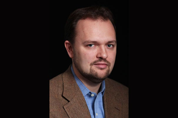 New York Times op-ed columnist Ross Douthat '02 will moderate a panel discussion at the Radcliffe Institute for Advanced Study about the importance of elite academic libraries maintaining greater ideological diversity in their collections of political materials.