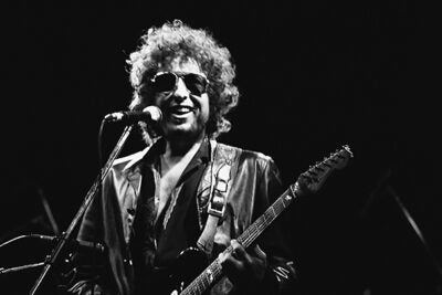 Bob Dylan, pictured in 1981, was awarded the Nobel Prize in Literature on Thursday.