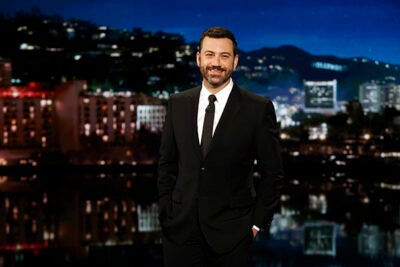 """Comedian Jimmy Kimmel will sit down with sports journalist Bill Simmons in support of Scholars at Risk. """"When there are men and women who are willing to risk the lives of their children and parents to tell the truth ... we have a responsibility to help them."""""""