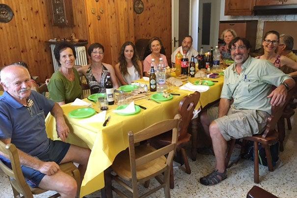 Huth's family
