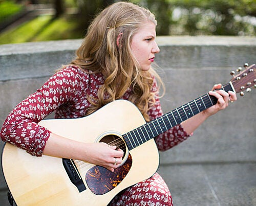 Brynn Elliott is a singer-songwriter and philosophy concentrator who uses the works of philosophers such as Kierkegaard and Decartes to inspire song lyrics.