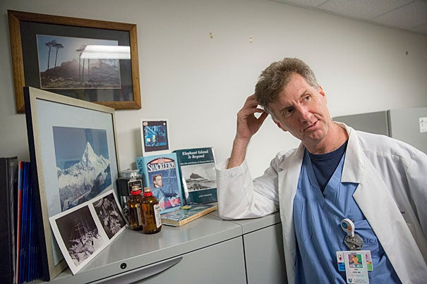 Paul Firth, assistant professor of anesthesia at Harvard Medical School, did research into the work of Ernest Shackleton's physicians on the Endurance mission to the South Pole. Despite primitive conditions, they were able to conduct surgery, including using chloroform during an amputation.