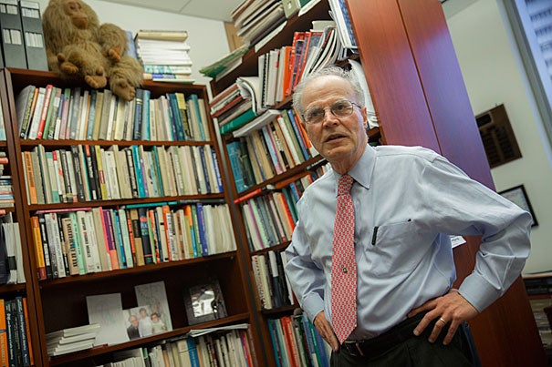"""Jorge Dominguez, Antonio Madero Professor for the Study of Mexico, one of the world's leading experts on Cuba, talks about Fidel Castro's legacy. """"Many people will absolve him. Not me,"""" said Dominguez. """"But what's interesting about this man is his complexity."""""""