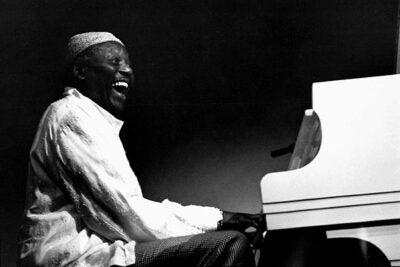 """When Randy Weston plays, a combination of strength and gentleness, virility and velvet, emerges from the keys in an ebb and flow of sound seemingly as natural as the waves of the sea,"" Langston Hughes said."