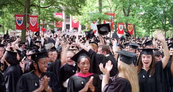 Class of 2001 graduates
