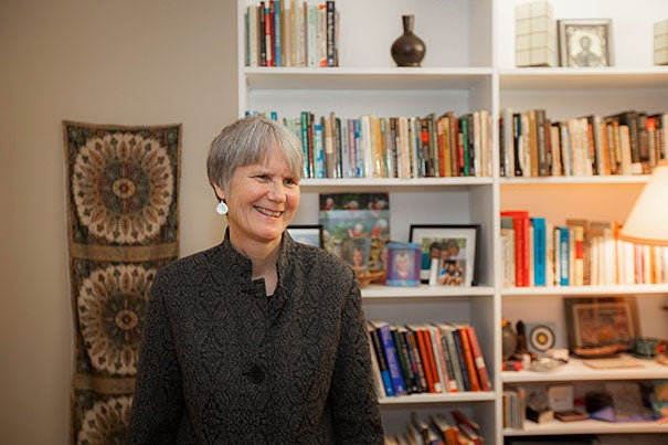 """Diane Moore, director of the Religious Literacy Project, is organizing a symposium on religious literacy in journalism. """"Scholars have a lot to learn from journalism in relation to how to translate complicated ideas to a general audience, and journalists can learn from scholars how to have a more nuanced view of religion."""""""