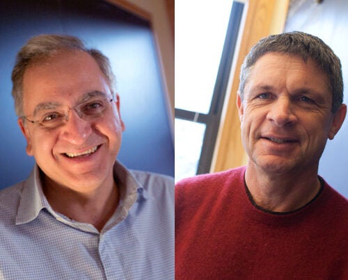 Cumrun Vafa, the Donner Professor of Science, and Andrew Strominger, the Gwill E. York Professor of Physics, have been named winners of the 2017 Breakthrough Prize in Fundamental Physics for their groundbreaking work in some of the most dizzying fields of theoretical physics.