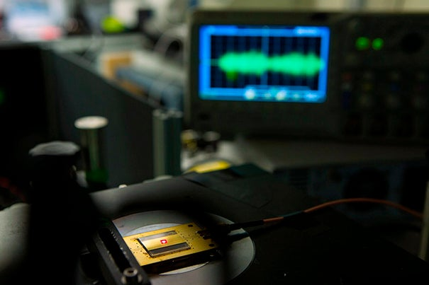 Researchers from the Harvard John A. Paulson School of Engineering and Applied Sciences have developed a tiny radio — built with atom-sized imperfections in diamonds — that can operate in a number of environments, from the harsh conditions of space to an organ in a living body.