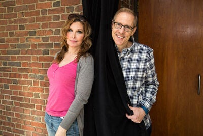 "The A.R.T. production ""Trans Scripts"" is drawn directly from interviews conducted by writer and producer Paul Lucas (right). Bianca Leigh, who is transgender, portrays one of the play's seven characters."