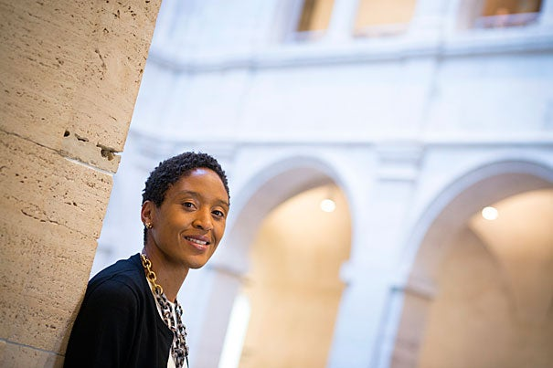 """""""What drew me to the job was that this is a teaching museum, and there is a collaborative nature to its curatorial and educational programming,"""" said Makeda Best, who was recently named the Harvard Art Museums' Richard L. Menschel Curator of Photography."""