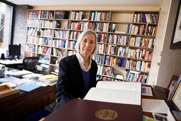 Harvard Law School Dean Martha Minow, who is credited with recruiting an increasingly diverse array of world-class faculty and staff, will step down as dean of the School at the end of this academic year.