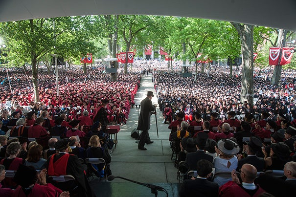 In anticipation of Harvard's 366th Commencement, new guidelines are set.