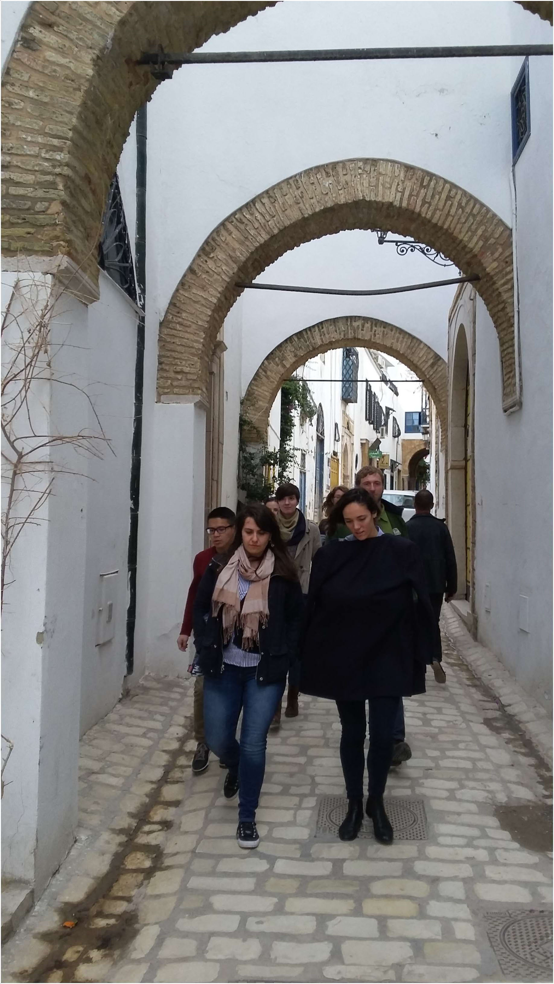 Center for Middle Eastern Studies Winter Session study excursion to Tunisia, January 2016