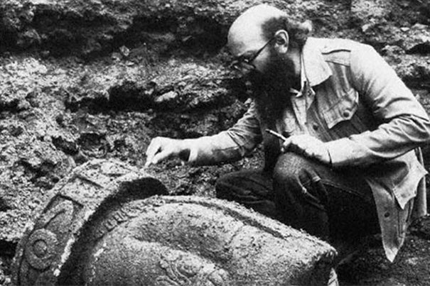 The excavation of the Aztec spiritual center, the Templo Mayor, by archaeologist Eduardo Matos Moctezuma provided otherwise unknowable information about the religion and society of the post-classical Mesoamerican empire.