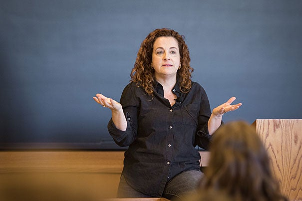 """Ayelet Waldman, J.D. '91, discusses the social and racial dimensions of the war on drugs. Using her book, """"A Really Good Day,"""" as a backdrop, Waldman describes how microdosing LSD saved her life."""