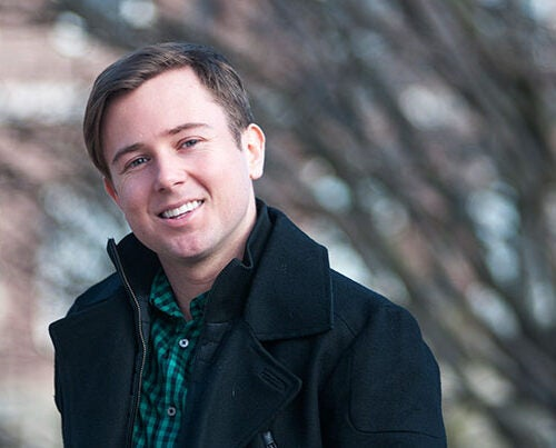 """Wanting his senior thesis to expound on his passion for music and his dream to help young cancer patients, Taylor Carol wrote an album of songs that served as a sort of """"mentoring"""" on end-of-life issues."""