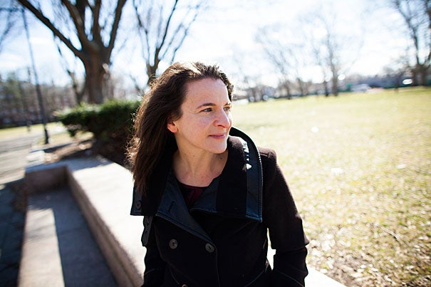 """Former Democratic speechwriter Sarah Hurwitz '99, J.D. '04 speaks about how she learned to """"write to be heard"""" and her plans for her fellowship at the Institute of Politics."""